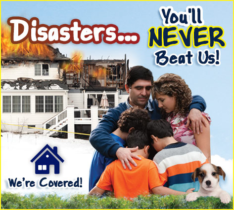 Runkle's Home Insurance Saves You From Potential Disasters!
